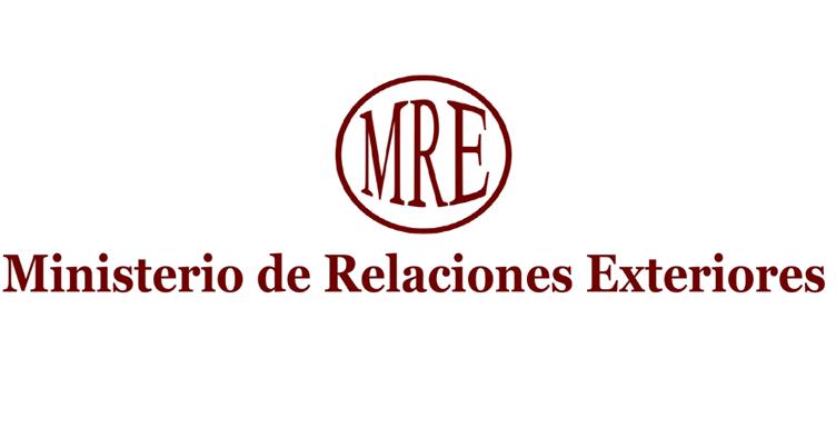 Ministerio de Relaciones Exteriores -MRE