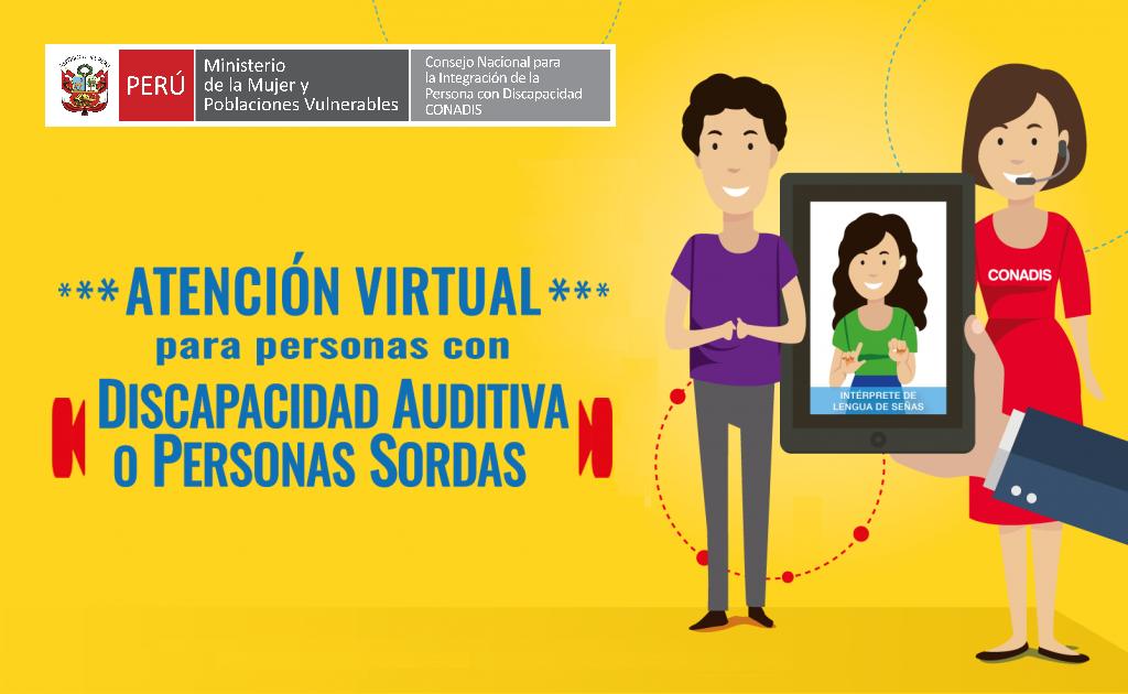 Atención Virtual para Personas con Discapacidad Auditiva
