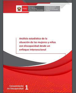 Análisis estadístico de la situación de las mujeres y niñas con discapacidad desde un enfoque interseccional