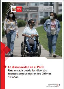 La discapacidad en el Perú: Una mirada desde las diversas fuentes producidas en los últimos 10 años