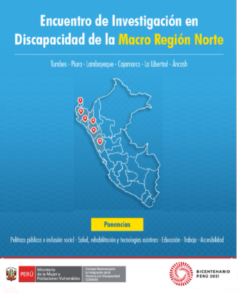 Encuentro de Investigación en Discapacidad de la Macro Región Norte: Segundo día